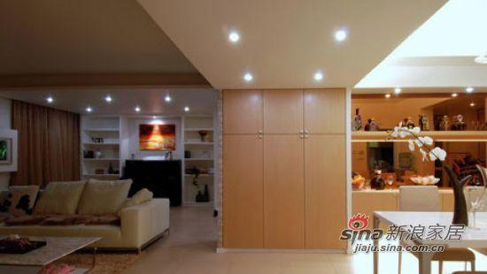 简约 二居 客厅图片来自用户2738829145在清浅温馨72平耐看二居室91的分享