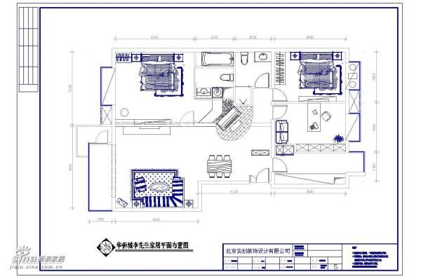 华侨城平面布置图