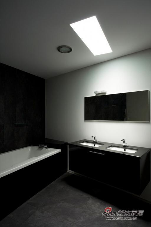 简约 别墅 客厅图片来自用户2737782783在充分利用光源的现代别墅设计34的分享
