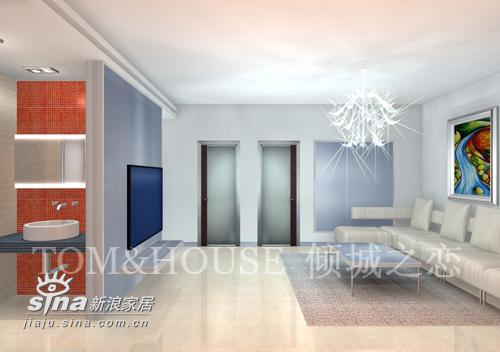 简约 二居 客厅图片来自用户2739153147在倾城之恋22的分享