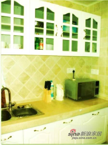 田园 二居 厨房图片来自用户2557006183在6万混搭85平田园乡村风小屋15的分享