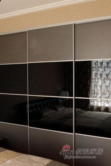 简约 二居 卧室图片来自用户2739153147在6万巧装超强收纳89平简约家28的分享