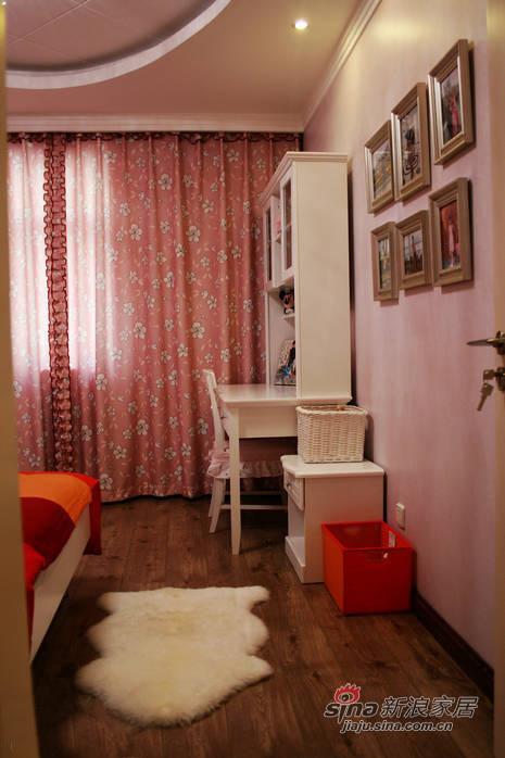 简约 三居 儿童房图片来自佰辰生活装饰在106平现代简约温馨三口之家28的分享