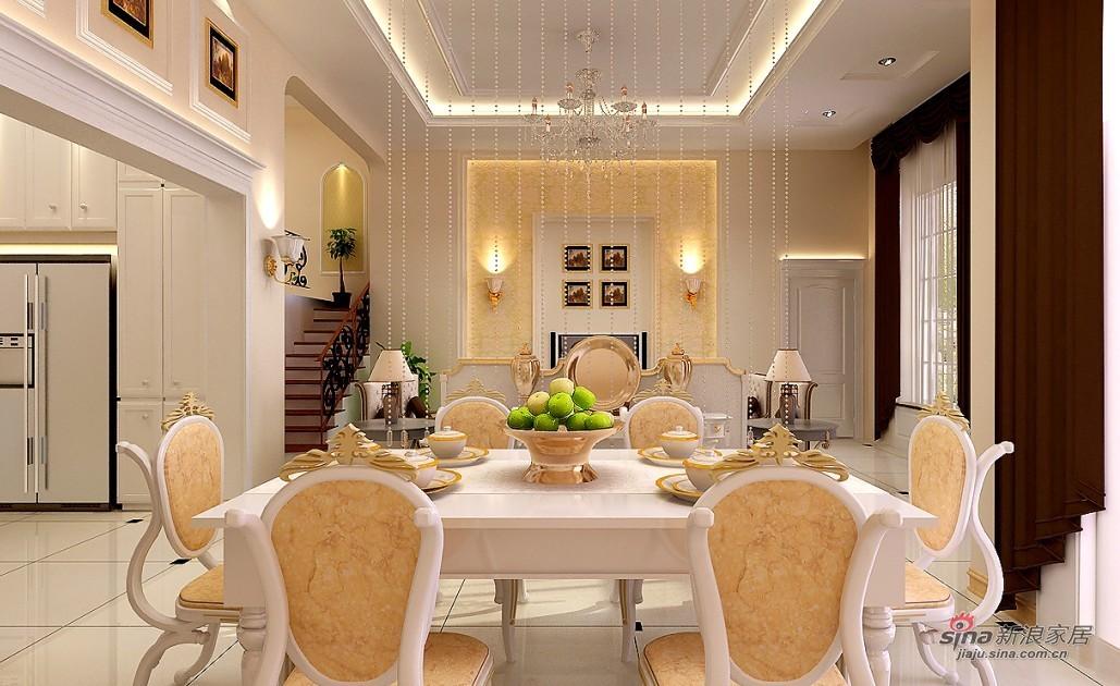 欧式 别墅 客厅图片来自用户2746889121在温哥华别墅精致简欧风43的分享
