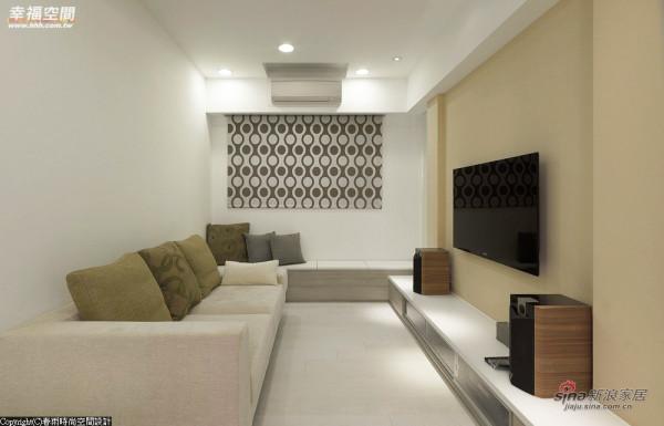 起居室-清爽的清浅色调