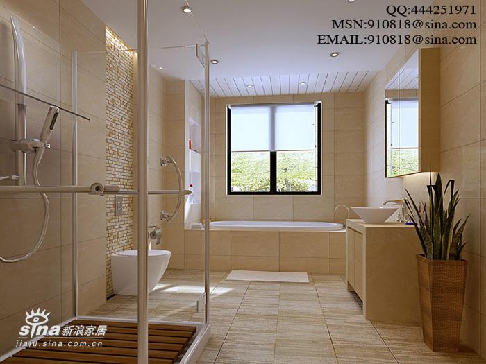 简约 四居 卫生间图片来自用户2557979841在现代风格之金汇豪庭42的分享