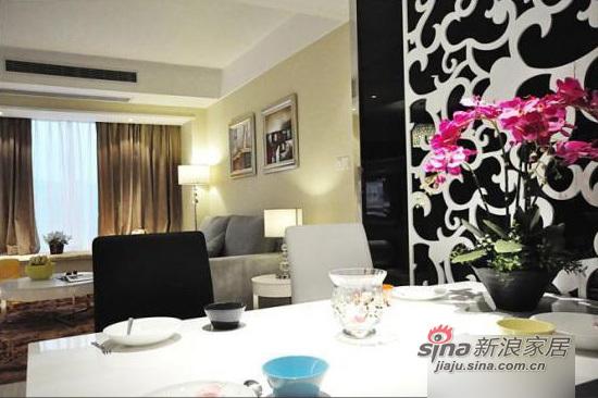 简约 三居 客厅图片来自用户2738829145在9万装80平3室现代简约风格家85的分享