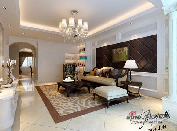客厅沙发装饰墙,真皮墙体软包柔软温馨而高