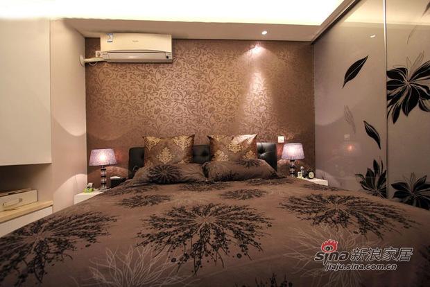 简约 三居 卧室图片来自佰辰生活装饰在11万打造85平低调温馨时尚居21的分享