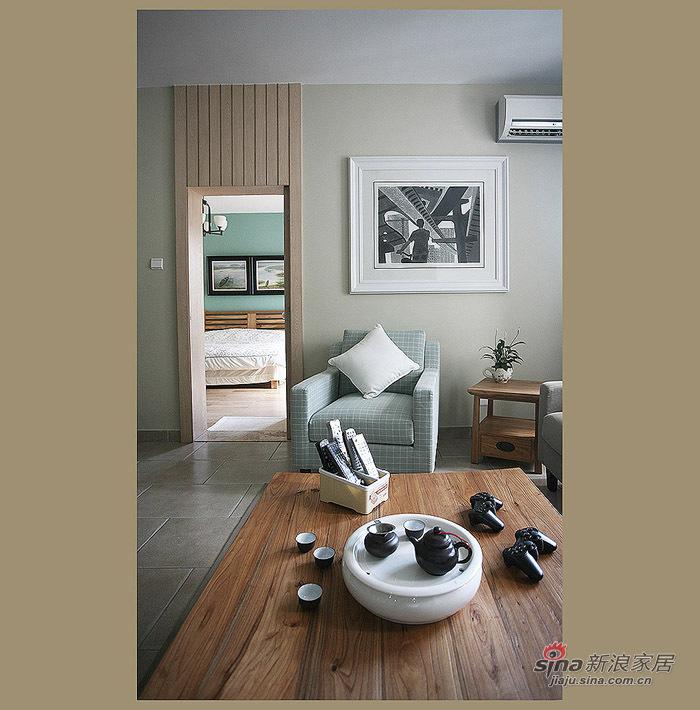 简约 三居 客厅图片来自用户2738845145在9万高雅85平简约三居40的分享