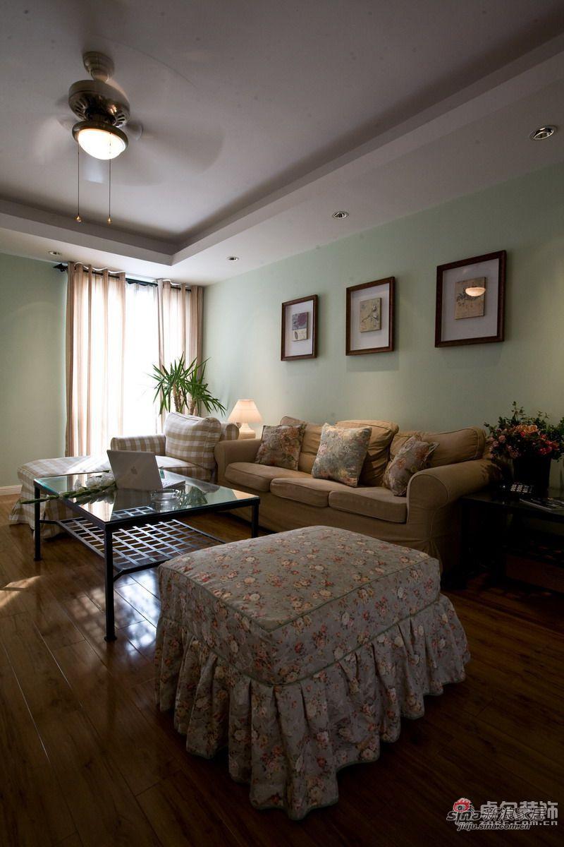 简约 二居 客厅图片来自用户2738813661在西街花园95㎡田园范儿2居17的分享