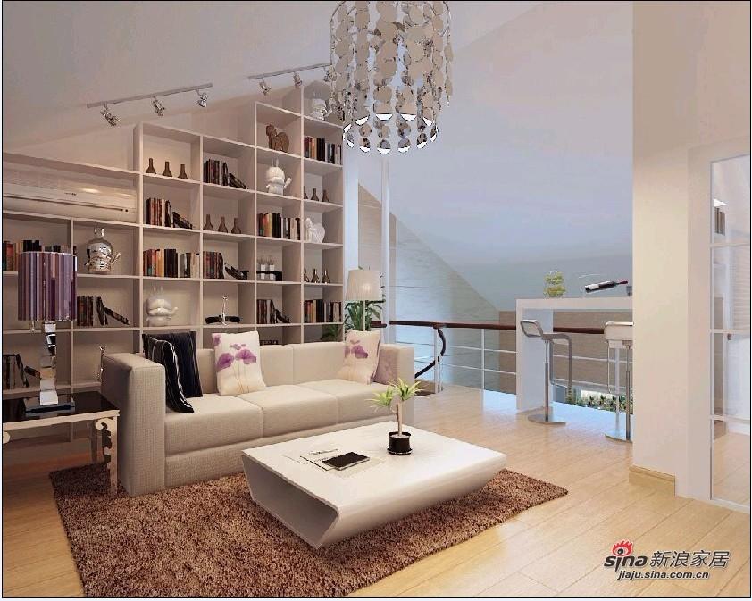 简约 loft 其他图片来自用户2739378857在8万装122平舒适LOFT三居69的分享