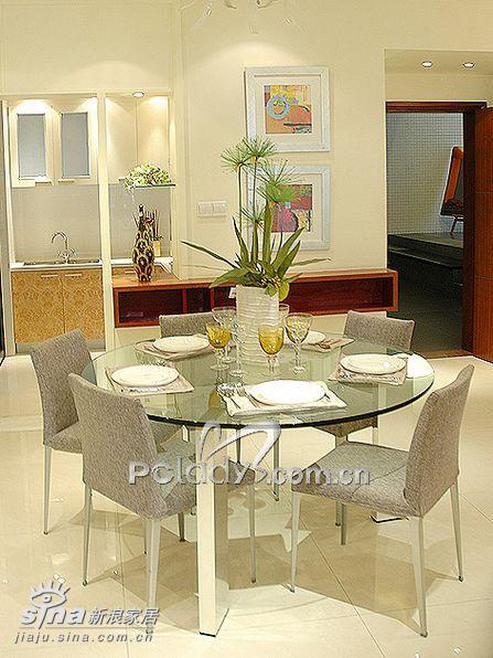 简约 四居 餐厅图片来自用户2737782783在时代玫瑰园三期样板间38的分享