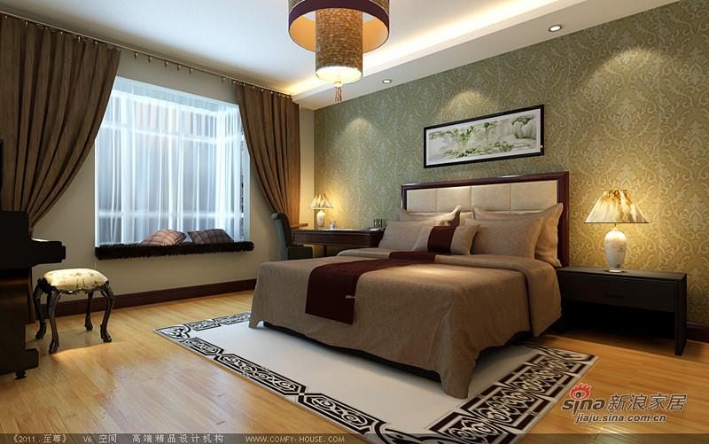 中式 三居 卧室图片来自用户1907658205在我的专辑486826的分享