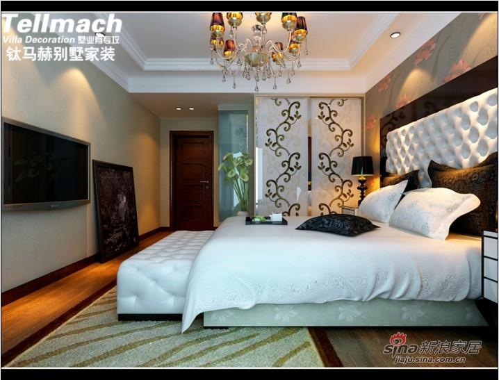 欧式 四居 卧室图片来自用户2746953981在11万打造180平新欧式风格98的分享