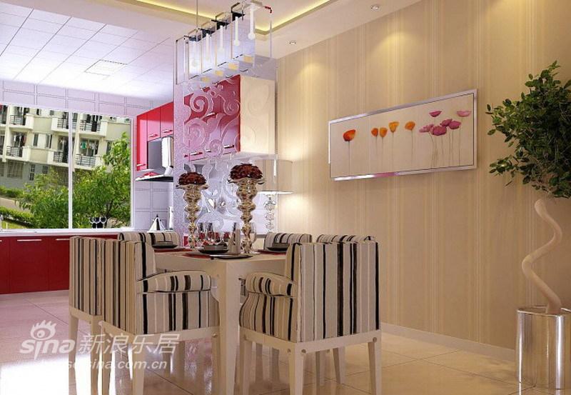 简约 三居 餐厅图片来自用户2737782783在120平干净、清爽白色简约温馨四口之家76的分享