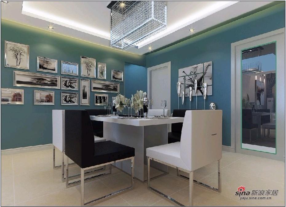 简约 loft 餐厅图片来自用户2739378857在8万装122平舒适LOFT三居69的分享