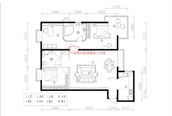简约 三居 客厅图片来自用户2737782783在国风北京48的分享