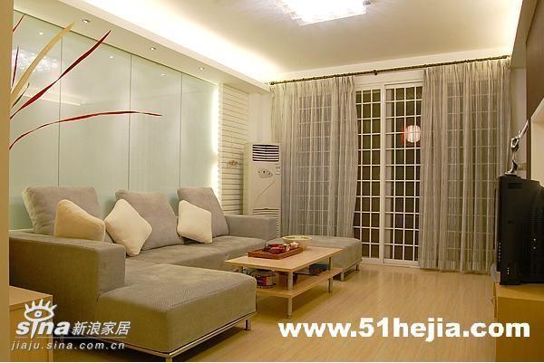 简约 二居 客厅图片来自用户2739081033在简明的自由38的分享