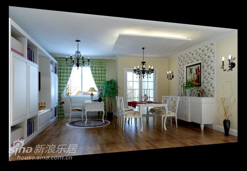 田园 三居 客厅图片来自用户2737791853在天鸿美域163平米田园风格45的分享