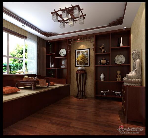 新中式风格会客厅设计