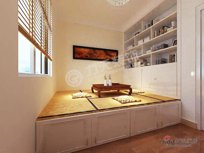 简约 二居 书房图片来自阳光力天装饰在天房郦景-两室两厅一厨一卫-现代简约风格51的分享