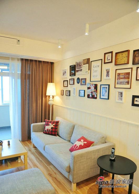 客厅照片墙