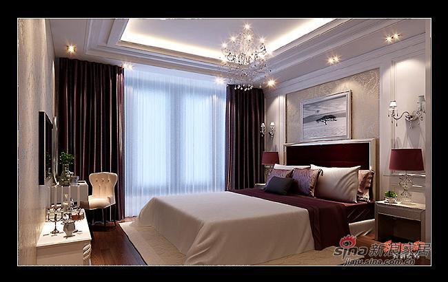 简约 三居 卧室图片来自用户2557979841在116平现代简约成功人士地中海式三居54的分享