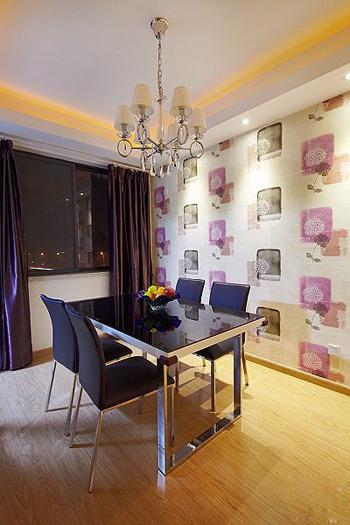 简约 二居 餐厅图片来自用户2558728947在5.6万装修95平米唯美家居33的分享