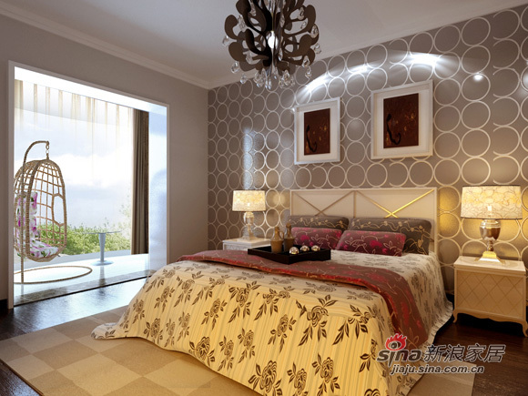 简约 二居 卧室图片来自用户2556216825在5万全新打造现代简约风格打造80平米2居53的分享