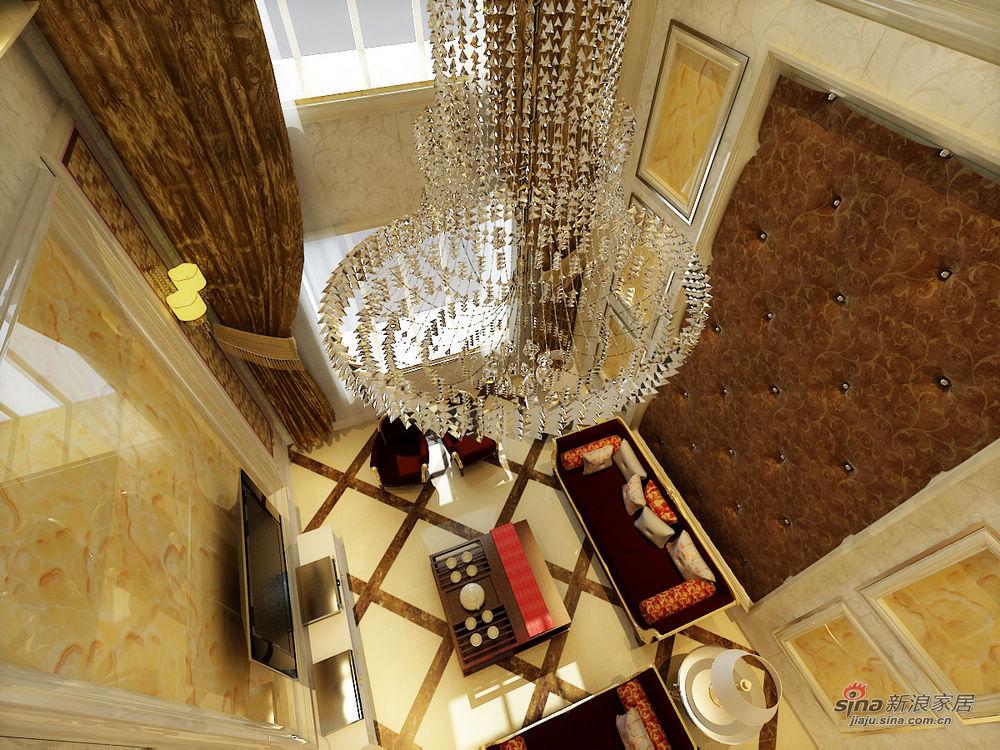 欧式 四居 客厅图片来自用户2557013183在现代欧式豪华舒适大居室设计19的分享
