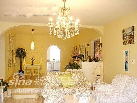 田园 跃层 客厅图片来自用户2737946093在164平米错层惊艳婚房11的分享