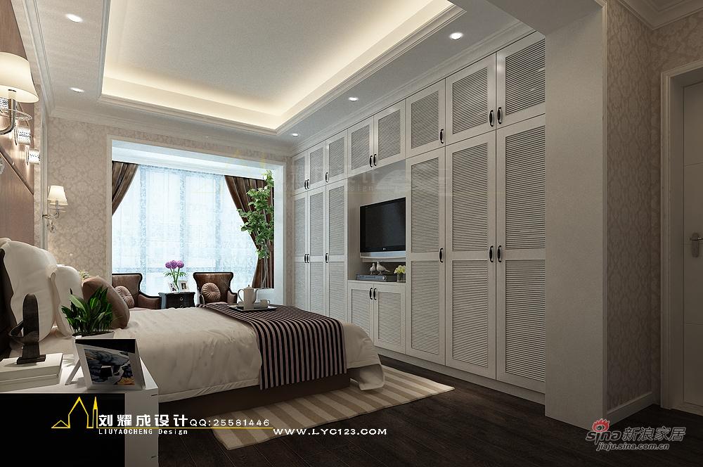 欧式 复式 卧室图片来自用户2557013183在【高清】四口之家梦之蓝250平复式楼设计85的分享