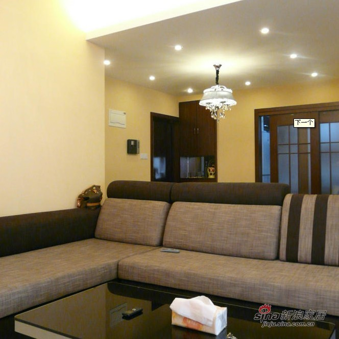简约 二居 客厅图片来自用户2737782783在5万打造80平现代简约两居30的分享