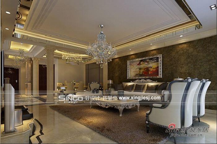 其他 别墅 客厅图片来自用户2557963305在300平新装饰主义别墅装修59的分享