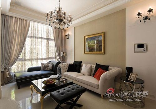 现代 复式 客厅图片来自佰辰生活装饰在简约大气98平舒适自然美家19的分享