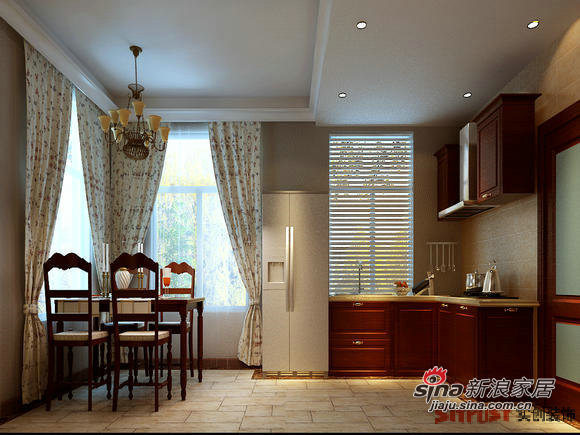 简约 复式 厨房图片来自用户2738813661在大包11万打造180㎡复式品质爱家30的分享