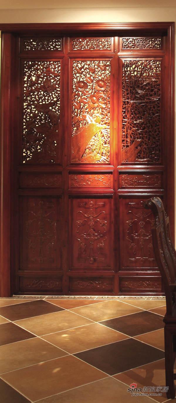 新古典 三居 玄关图片来自用户1907701233在220平简约中式高雅三居 传统文化的捕捉88的分享