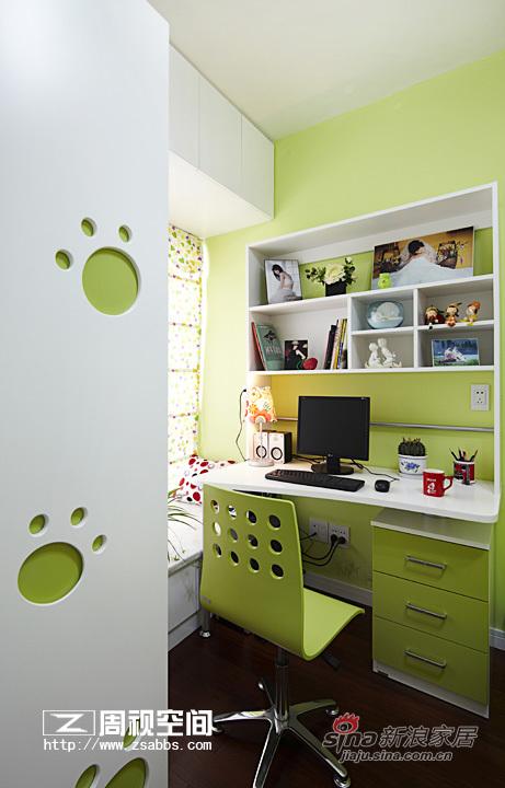 简约 二居 书房图片来自杭州周视空间设计机构在红色诱惑89的分享