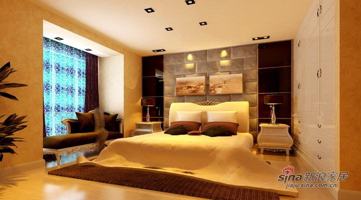 欧式 三居 卧室图片来自用户2745758987在8.4万精心打造136平简欧范儿【漫步巴黎】94的分享