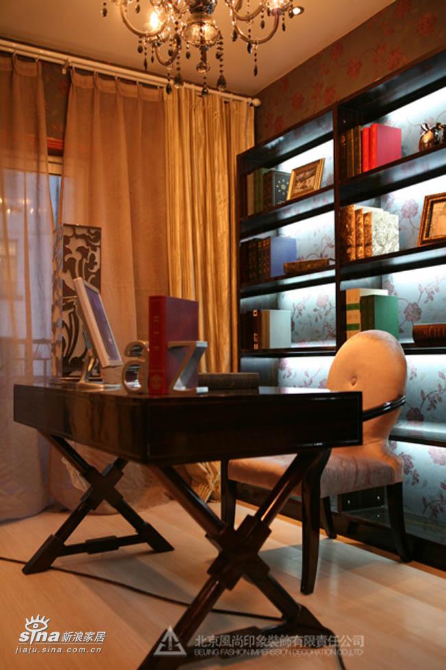 欧式 三居 书房图片来自用户2557013183在西式奢华27的分享