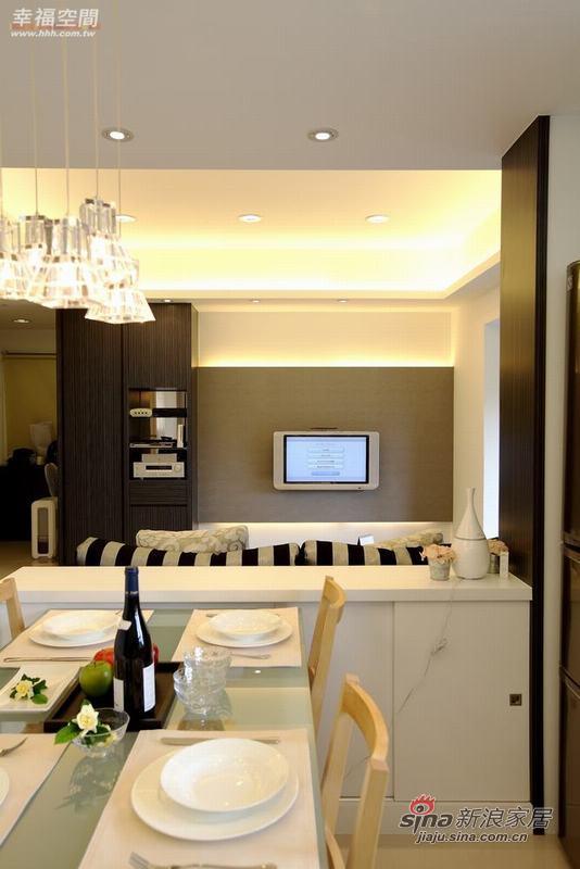 简约 二居 餐厅图片来自幸福空间在品味生活95平简约家居26的分享