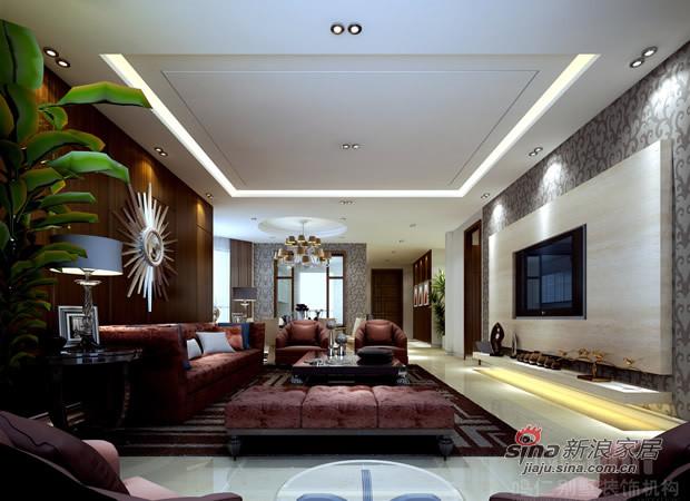 其他 别墅 客厅图片来自用户2558746857在新古典主义风格在别墅家居生活的应用50的分享