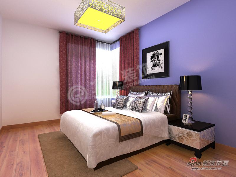 简约 二居 卧室图片来自阳光力天装饰在融侨观邸-2室2厅1卫-现代简约84的分享