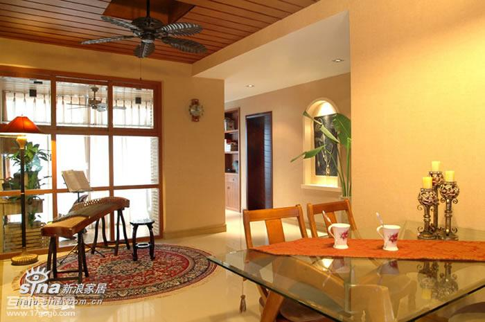 其他 三居 餐厅图片来自用户2557963305在东南亚风格样板房69的分享