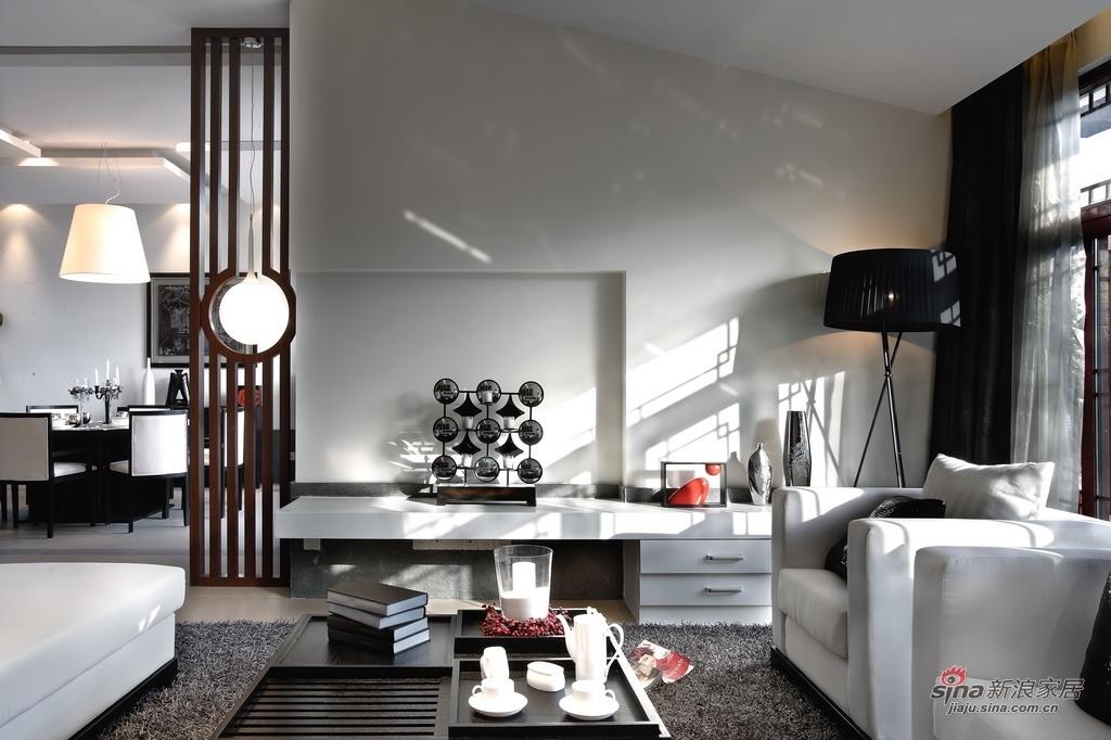中式 别墅 客厅图片来自用户1907696363在【高清】359㎡精致中式别墅样板间86的分享