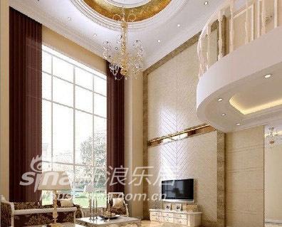 欧式 别墅 客厅图片来自用户2746869241在欧式风格32的分享