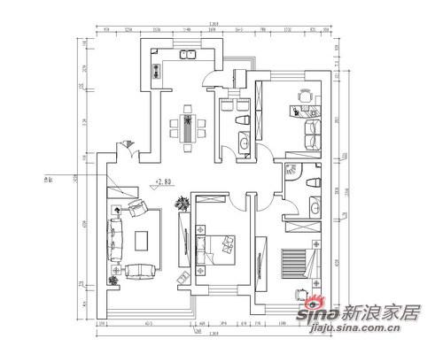 中式 三居 其他图片来自用户1907662981在8.7万打造海富漫香林148平中式三居52的分享