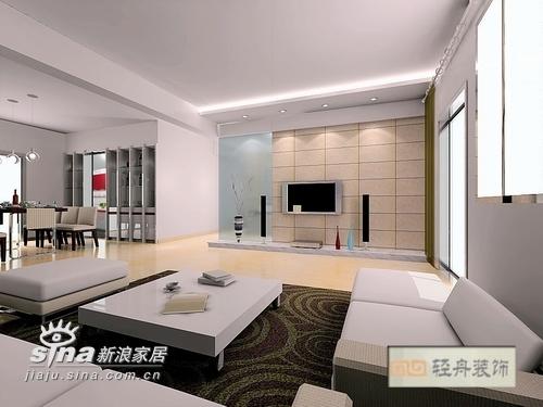 简约 三居 客厅图片来自用户2738820801在康桥尚都140的分享