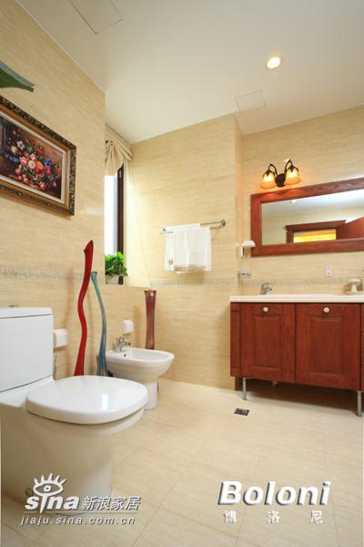 简约 别墅 卫生间图片来自用户2556216825在达观别墅24的分享